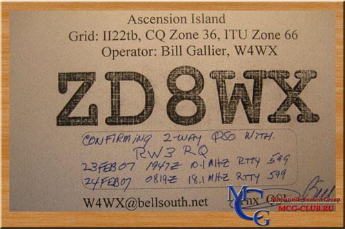 ZD8WX - Ascension island